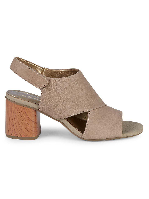 Damaire Nubuck High Heel Sandals