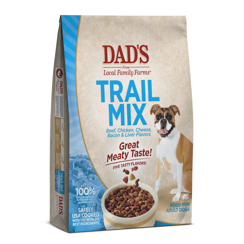 DAD\'S Trail Mix Dry Dog Food, 18 lbs - Walmart.com