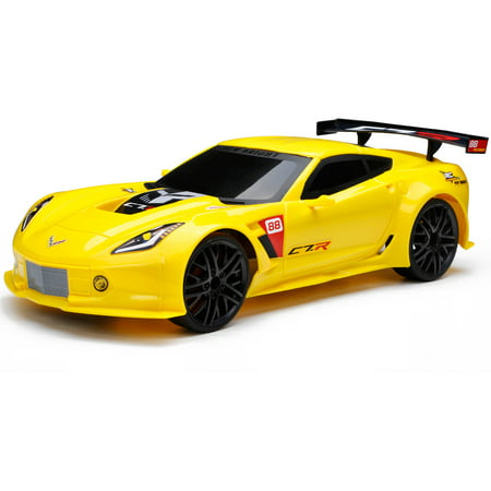 Corvette Race - New Bright® RC Chargers® Corvette® C7.R™ Full Function Radio Control Car 6 pc Box