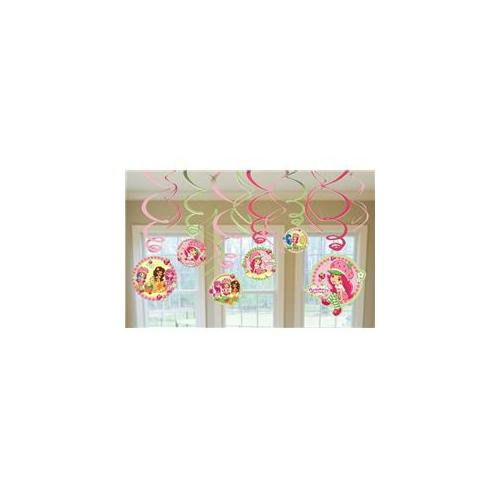 Amscan Strawberry Shortcake Hanging Swirl Value Pack