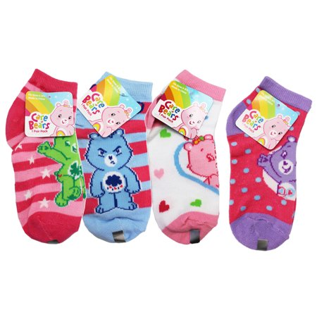 Care Bears Assorted Character/Colors Kids Sock Set (2 Pairs, Size