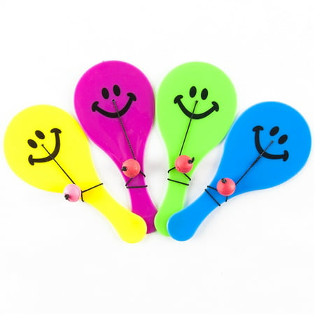 Neon Paddle Balls - 12 per pack](Paddle Game)