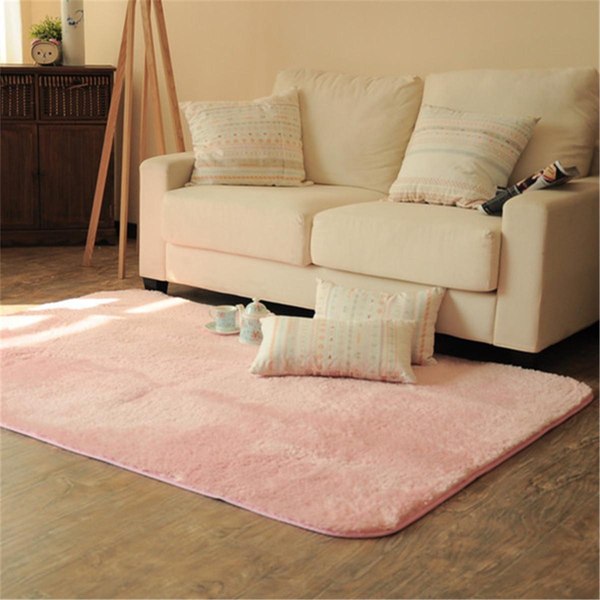 New Modern Designer Shag Shaggy Area Rug Living Room Carpet Bedroom Rug 3x5 ft