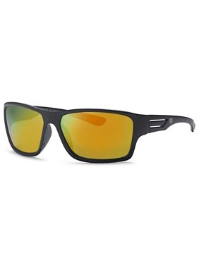 Hawaiian Island Creations Active Kids Polarized Polycarbonate Sunglasses - Matte Black Frame / Red Lenses