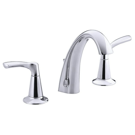"Kohler R37026-4D1-CP 8"" - 16"" Polished Chrome Mistos® Two Handle Widespread Lavatory Faucet"