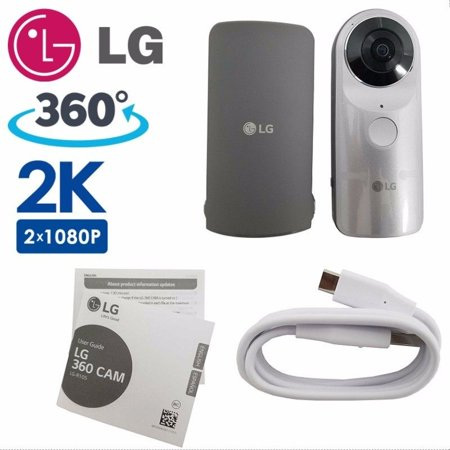 LG 360 CAM Compact Spherical Camera 13MP 2K Wide Angle Video R105 Android iOS (Refurbished)