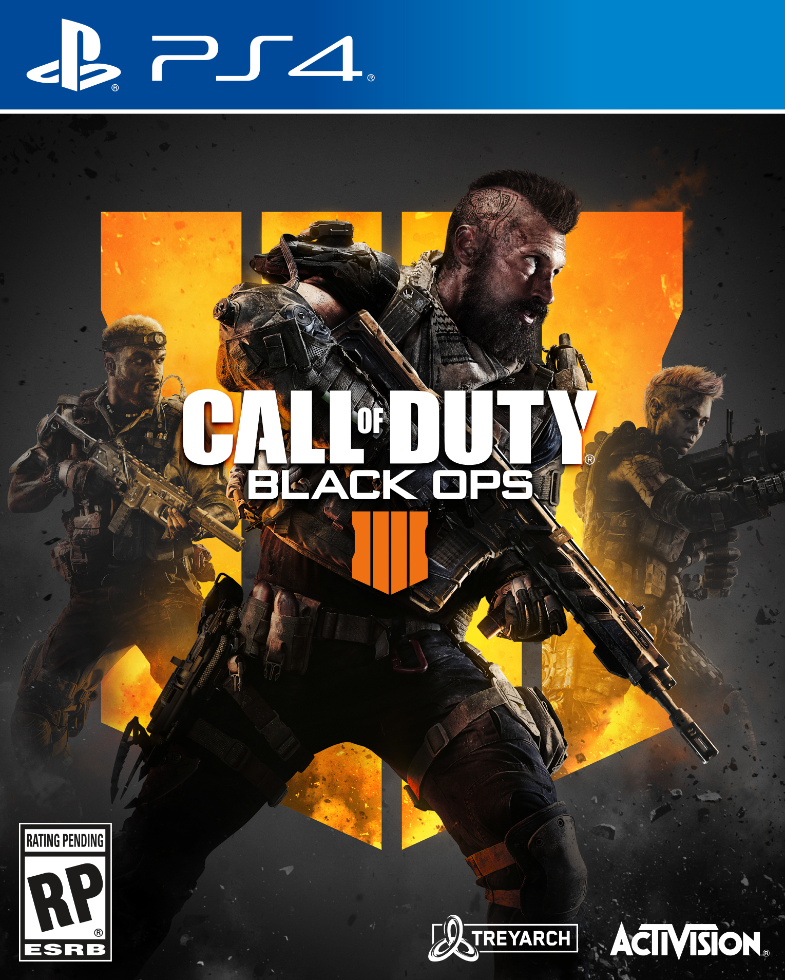 Call of Duty: Black Ops 4, Activision, Playstation 4 � Purchase the game to get 2XP � Only... by Activision