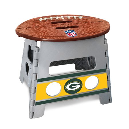 Nfl Green Bay Packers Folding Step Stool 14 Quot X13