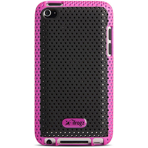 iFrogz Breeze Case for iPod touch 4, Pink and Black