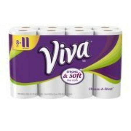 Viva One Handle (s, Choose-A-Sheet, White, 8 Big Rolls (1), Paper Towel By Viva Paper Towel )
