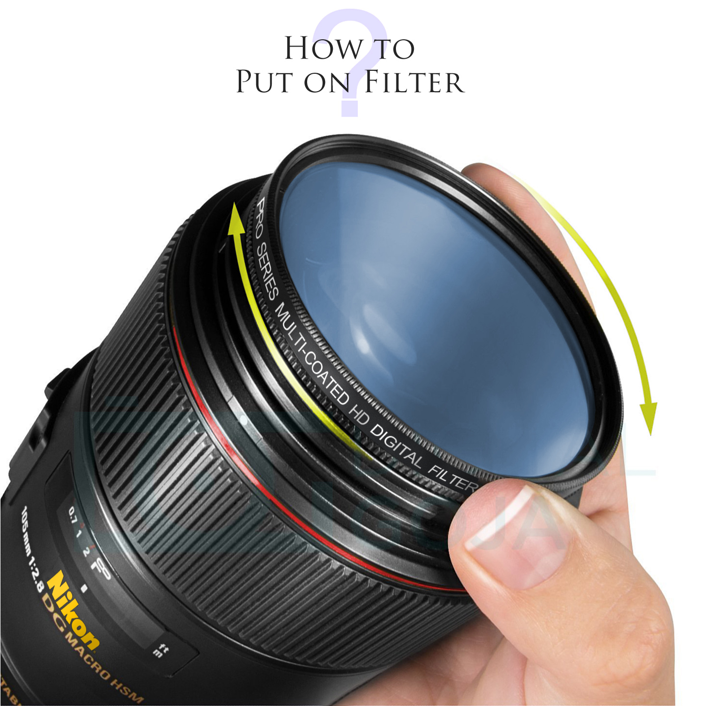 55mm Pro Series High Resolution Circular Polarized Filter & an eCostConnection Microfiber Cloth - image 4 of 5