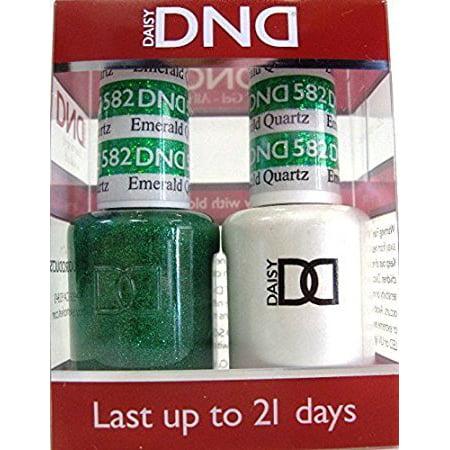 DND Nail Polish Gel & Matching Lacquer Set (582 - Emerald