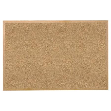 GHENT Bulletin Board,Cork,Wood Frame,60x48 WK45