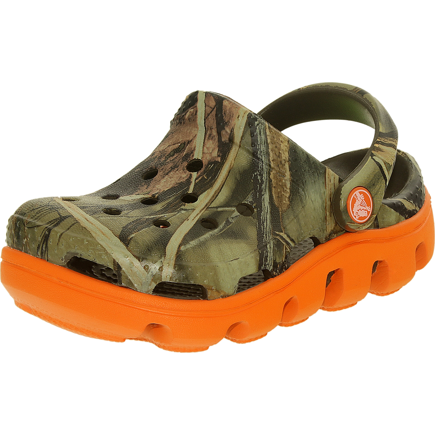 Crocs Boy's Duet Sport Realtree Clog Ankle-High Synthetic Flat Shoe by Crocs