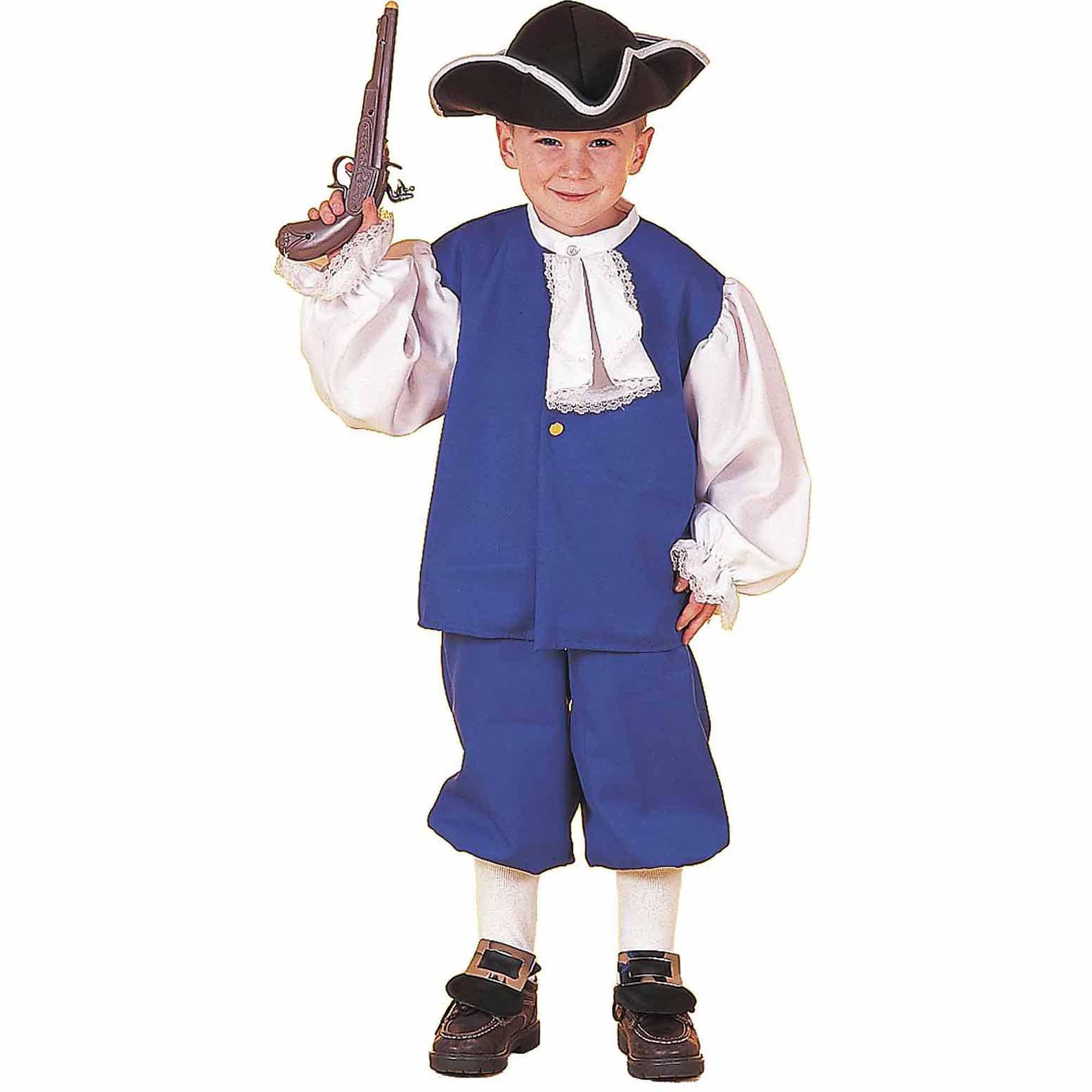 Little Colonial Boy Child Halloween Costume