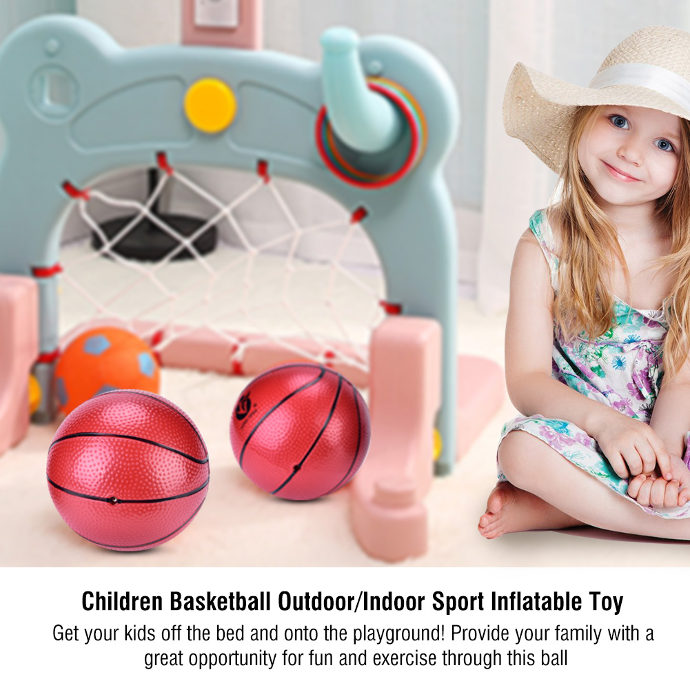 Lv. life Children Basketball Ball Outdoor/Indoor Sport Inflatable Toy Baby Balloon Balls, Basketball for Children,Ball Toy