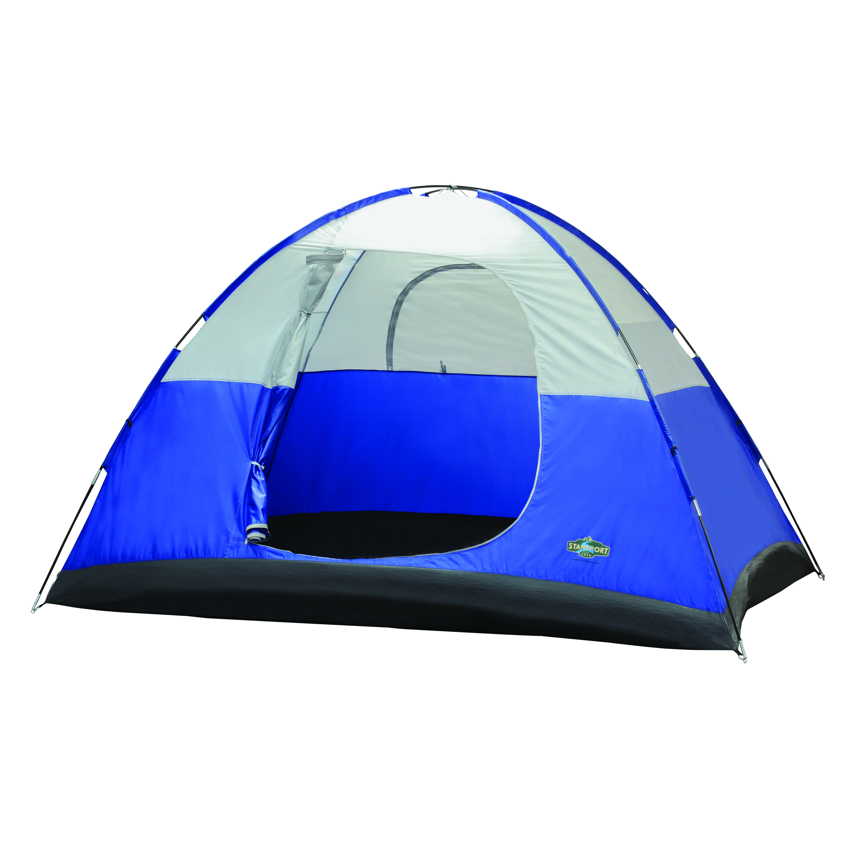 3 Season Tent, 8' x 10' x 6', Teton by Stansport