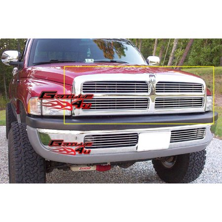 Fits 94-01 Dodge Pickup Billet Grille Insert
