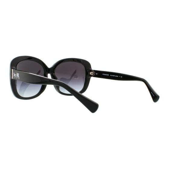 31be3cb86f15 Coach - COACH Sunglasses HC 8158F 532413 Dark Vintage Tortoise/ Black 58MM  - Walmart.com
