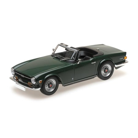 1969 Triumph TR6 in Dark Green LHD in 1:18 Scale by (Triumph Tr6 Racing)
