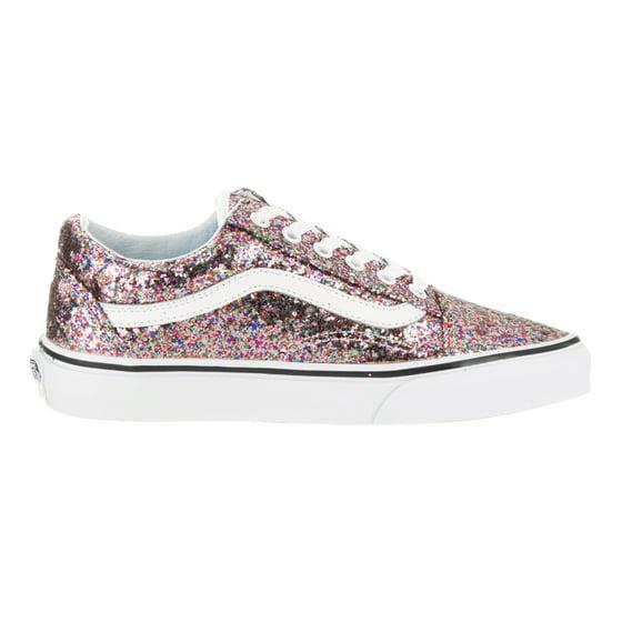 Vans - Vans Unisex Old Skool (Chunky Glitter) Skate Shoe - Walmart.com