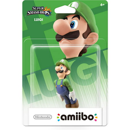 Luigi Super Smash Bros Series Amiibo (Nintendo Wii U or
