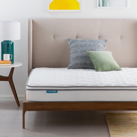 Linenspa Dreamer 8 Inch Gel Memory Foam Hybrid Mattress, Queen