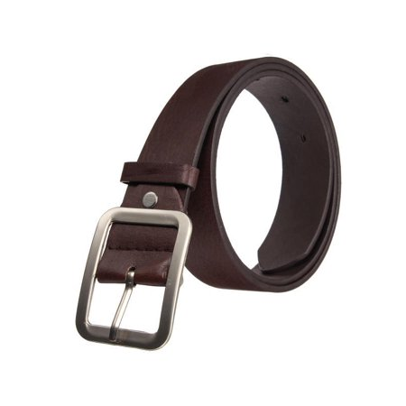 Casual Leather Waistband Pin Metal Buckle Belt Waist Strap Belts For Man