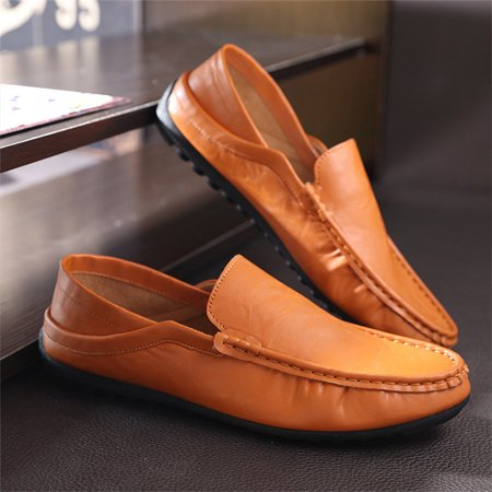 Men's Driving Loafer Fashion Casual Slip On Loafers Soft Boat Shoes