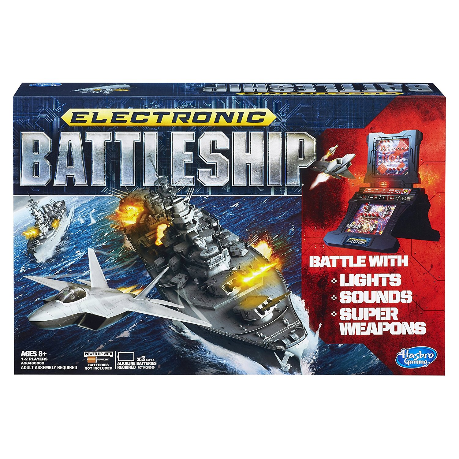 Electronic Battleship Game, de Wars memoria NAVAL RARE ORIGINAL Juego Effects Hasbro... by