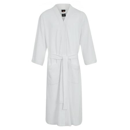 Hanes Men's Waffle Kimono Robe ()