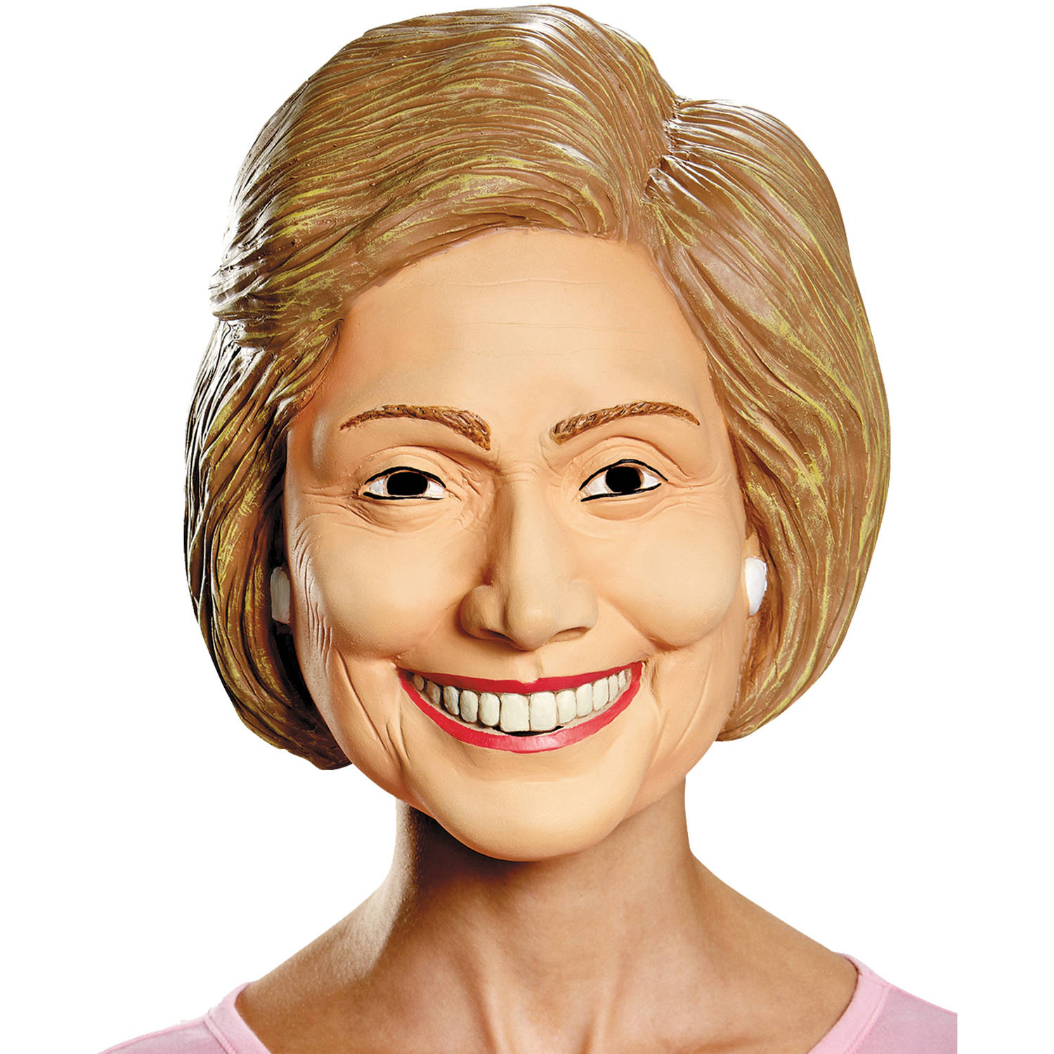 Hillary Clinton the Democratic Presidential Candidate Deluxe Mask Costume Accessory