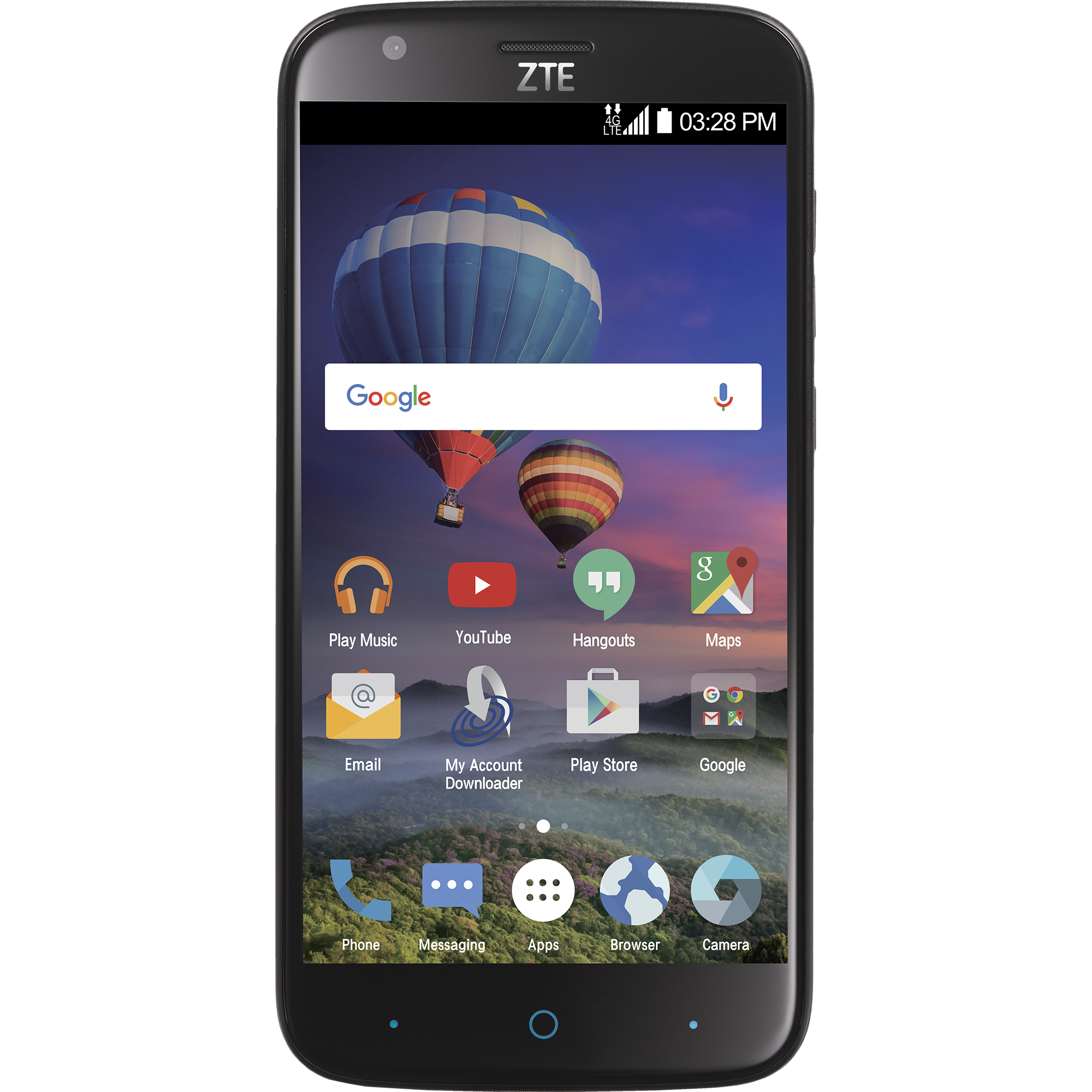 Total Wireless Zte Zmax Champ 4g Lte Prepaid Smartphone