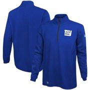 New York Giants New Era Combine Authentic Overcome Quarter-Zip Jacket - Royal
