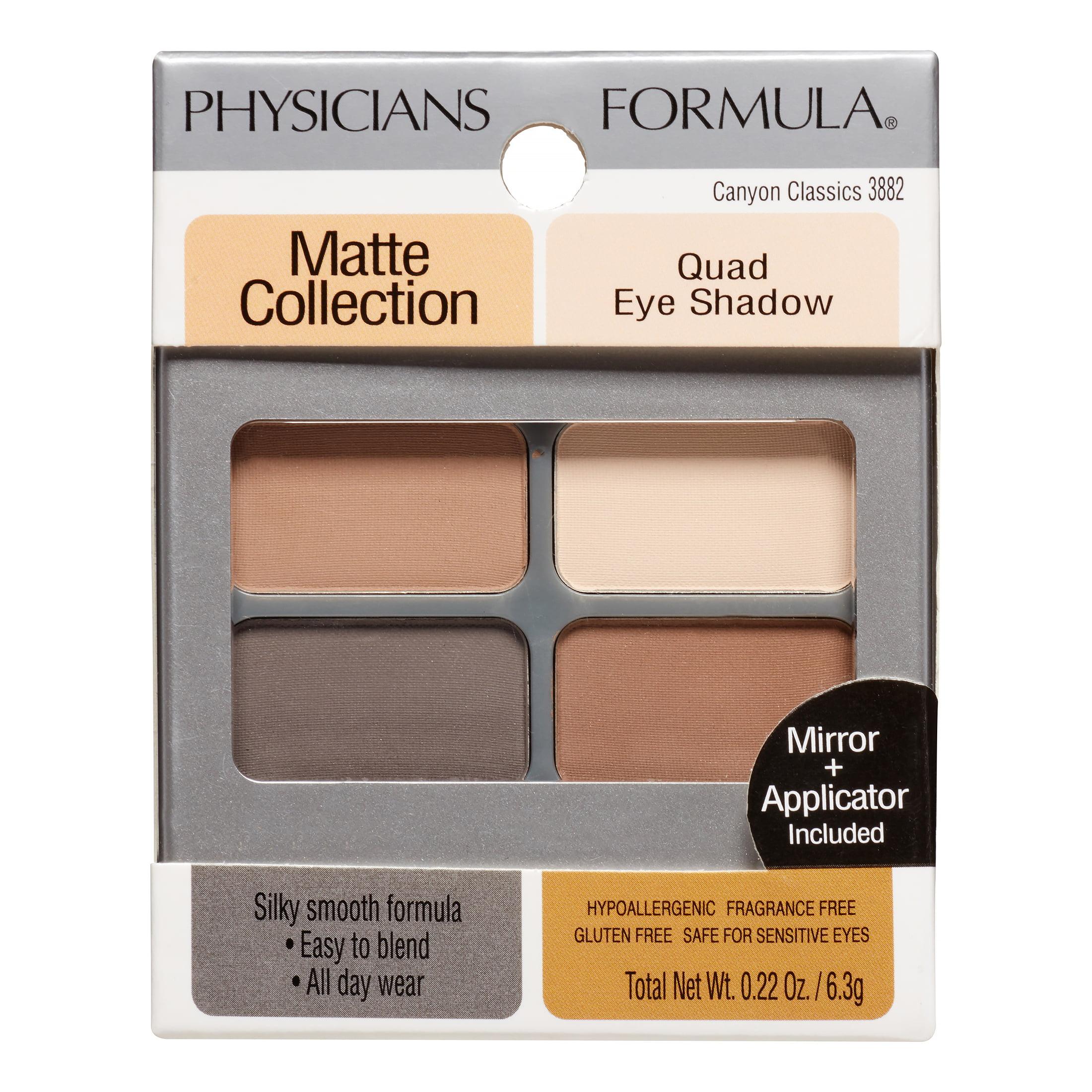 Physicians Formula Matte Collection Quad Eye Shadow Canyon Classics City Color Brow Medium