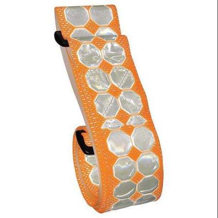 Pt Belt By Cyalume Technologies 55   Reflective Belt  Orange  2   W  9 3012509O