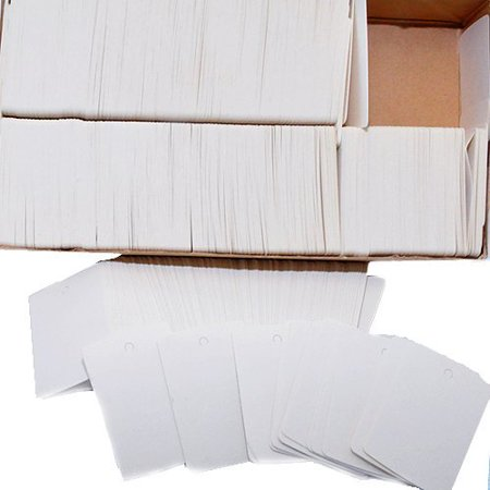 Merchandise Tags 1000 Tags Per Box Merchandise Tags 1000 tags per box. Merchandise tags are used to code inventory, mark and manage repairs and organize your business. 1 3/4 W x 2 7/8  H