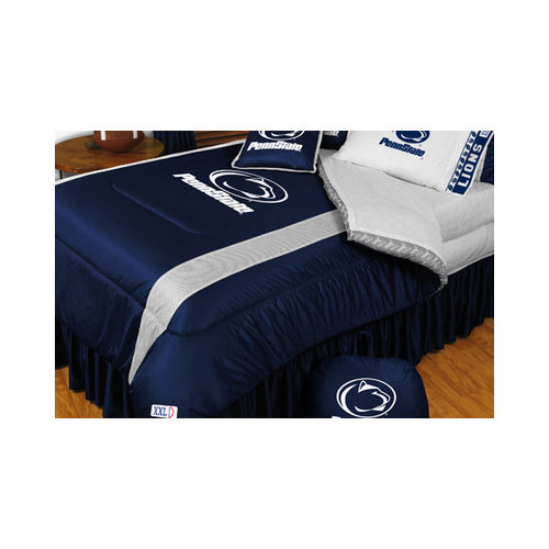 Bundle-38 Sports Coverage Penn State University Nittany Lions Sidelines Bedding Series (3 Pieces)