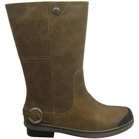 Womens Tall Buckled Winter Boot