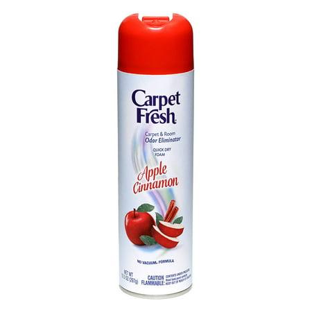WD-40 280174 Carpet Fresh No Vacuum Foam Carpet Refresher, Apple Cinnamon 2-Pack