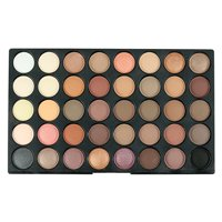 120 Colors Eyeshadow Palette, URHOMEPRO Warm Neutrals Highly Pigmented Colors Makeup Kit for Beginners Traveling Professional, Warm Neutrals Eyeshadow for All Ages and Skin Tones, S5713