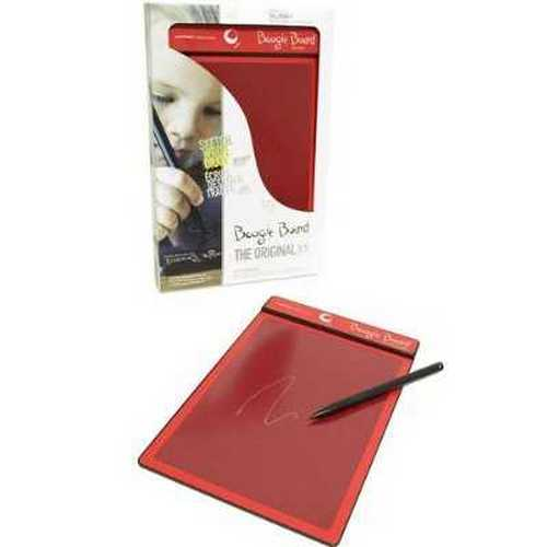 Boogie Board 8.5-Inch LCD Writing Tablet (Red/Red)