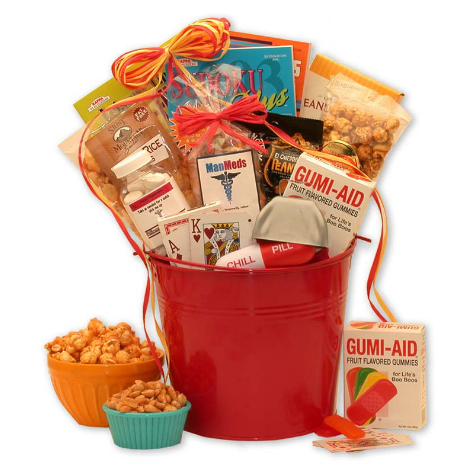 Gift Basket Drop Shipping Man Meds Get Well Gift For Men