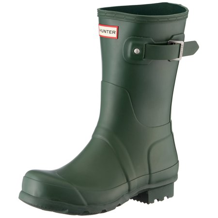 e6f3135a1 Hunter - Hunter WFS1000RGL-HGR : Women's Original Short Gloss Hunter Green  Rain Boots (11 B(M) US Women) - Walmart.com