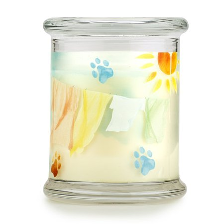 Pet House Candle in 15 Fragrances - All Natural Soy Wax Candle and Pet Odor Eliminator - Eco-Friendly, Non-Toxic, Paraffin-Free - 60-70-Hour Burn Time - Sunwashed - Pet Candle