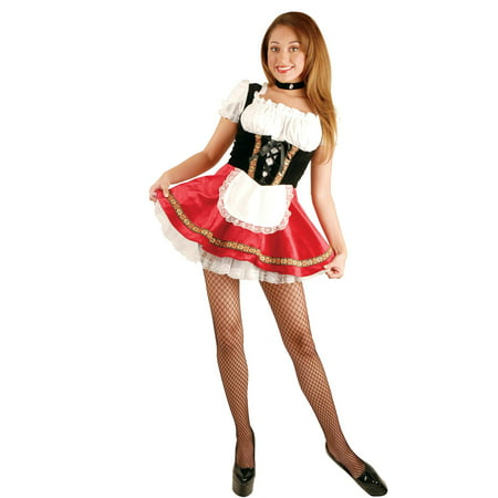 Womens Deluxe Beer Garden Girl Halloween Costume - Beer Dog Halloween Costume