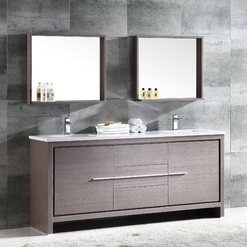 fresca trieste allier 72 double bathroom vanity set with mirror rh walmart com