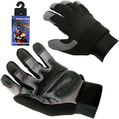 High Performance Spandex Mechanic Glove with Velcro
