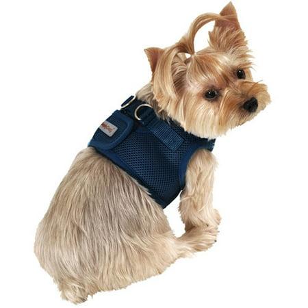 Body Work Harness (SimplyDog Mesh Dog Body Harness, Navy )