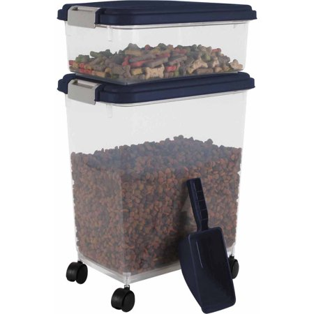 iris airtight pet food storage container set. Black Bedroom Furniture Sets. Home Design Ideas